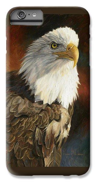 Portrait Of An Eagle IPhone 6s Plus Case by Lucie Bilodeau
