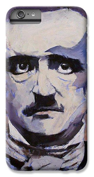 Edgar Allan Poe IPhone 6s Plus Case by Michael Creese