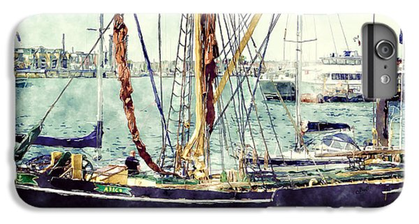 Portsmouth Harbour Boats IPhone 6s Plus Case