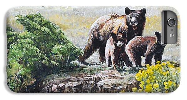 Prairie Black Bears IPhone 6s Plus Case by Aaron Spong