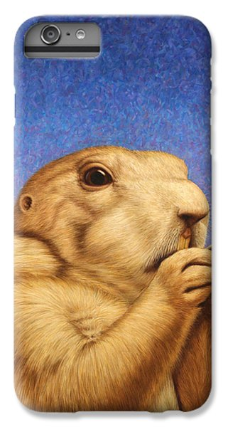 Dog iPhone 6s Plus Case - Prairie Dog by James W Johnson