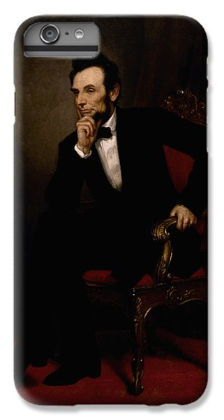 Abraham Lincoln iPhone 6s Plus Case - President Lincoln  by War Is Hell Store