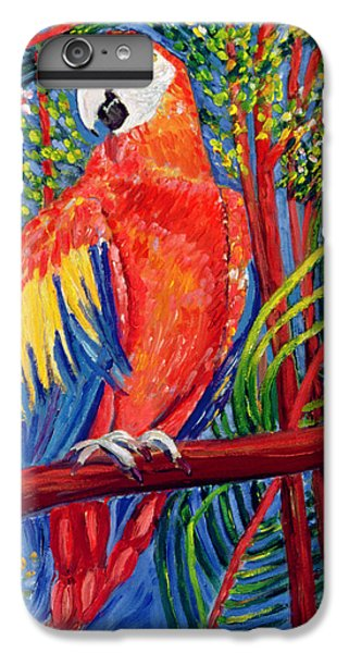 Macaw iPhone 6s Plus Case - Pretty Polly by Patricia Eyre