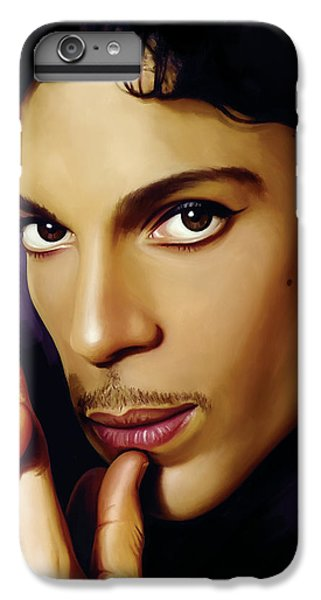 Rock And Roll iPhone 6s Plus Case - Prince Artwork by Sheraz A