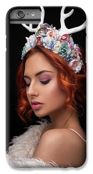 Fairy iPhone 6s Plus Case - Princess Of Forest by Martin Krystynek Qep