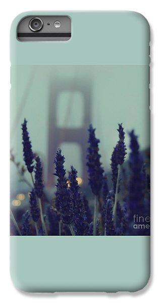 Golden Gate Bridge iPhone 6s Plus Case - Purple Haze Daze by Jennifer Ramirez
