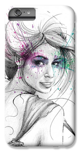 Queen Of Butterflies IPhone 6s Plus Case by Olga Shvartsur