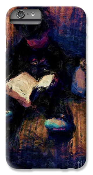 Quiet Time IPhone 6s Plus Case by Claire Bull