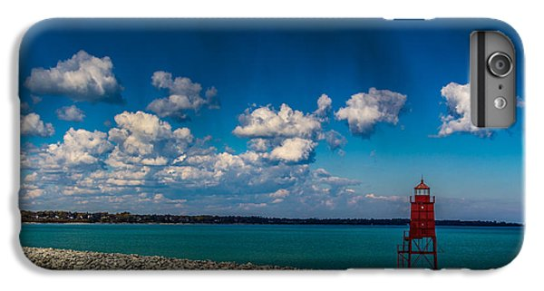 Racine Harbor Lighthouse IPhone 6s Plus Case by Randy Scherkenbach