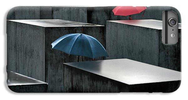 Umbrella iPhone 6s Plus Case - Rain And Tears by Linda Wride