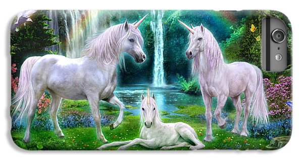Rainbow Unicorn Family IPhone 6s Plus Case by Jan Patrik Krasny