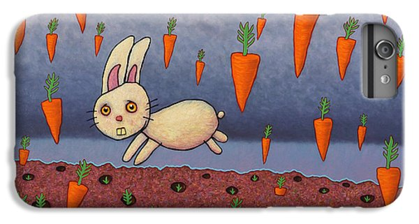 Raining Carrots IPhone 6s Plus Case by James W Johnson