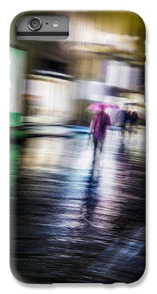 IPhone 6s Plus Case featuring the photograph Rainy Streets by Alex Lapidus