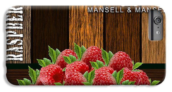 Raspberry Fields Forever IPhone 6s Plus Case by Marvin Blaine