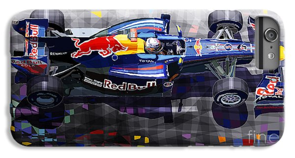 Car iPhone 6s Plus Case - Red Bull Rb6 Vettel 2010 by Yuriy Shevchuk