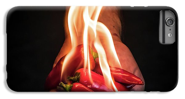 Hot iPhone 6s Plus Case - Red Hot Chili Peppers by Mike Melnotte