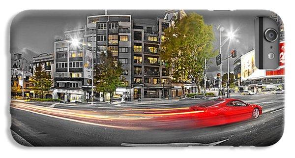 Red Lights Sydney Nights IPhone 6s Plus Case by Az Jackson