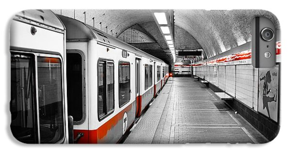 Red Line IPhone 6s Plus Case by Charles Dobbs
