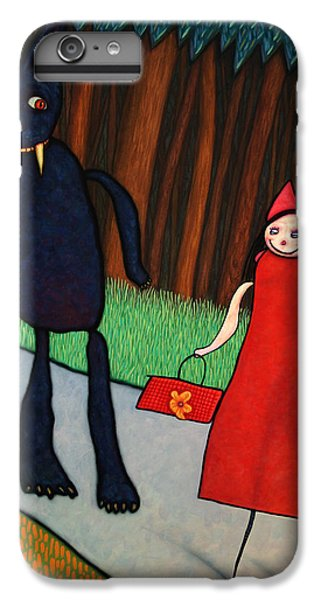 Fairy iPhone 6s Plus Case - Red Ridinghood by James W Johnson