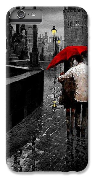 Umbrella iPhone 6s Plus Case - Red Umbrella 2 by Yuriy Shevchuk