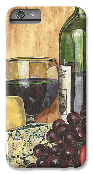 Red Wine And Cheese IPhone 6s Plus Case