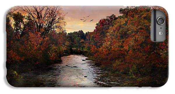 Scarlet iPhone 6s Plus Case - Reflections Of An Autumn Day by Lianne Schneider