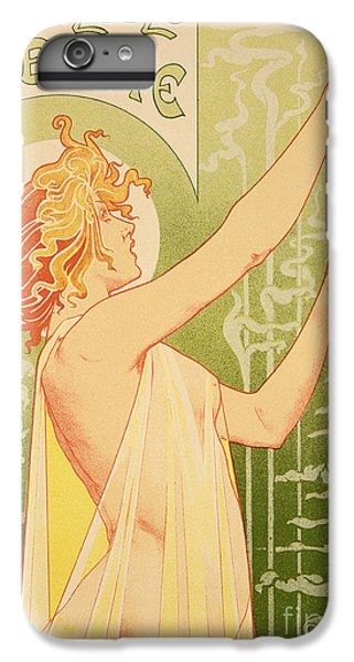 Bar iPhone 6s Plus Case - Reproduction Of A Poster Advertising 'robette Absinthe' by Livemont