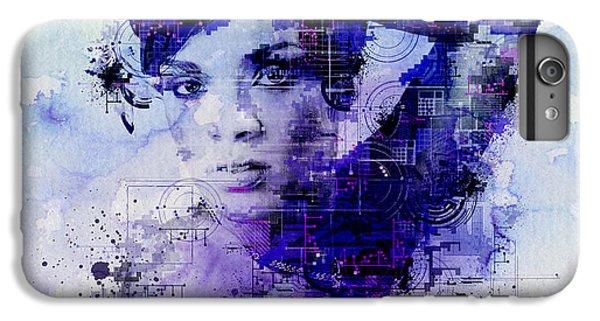 Rihanna 2 IPhone 6s Plus Case by Bekim Art