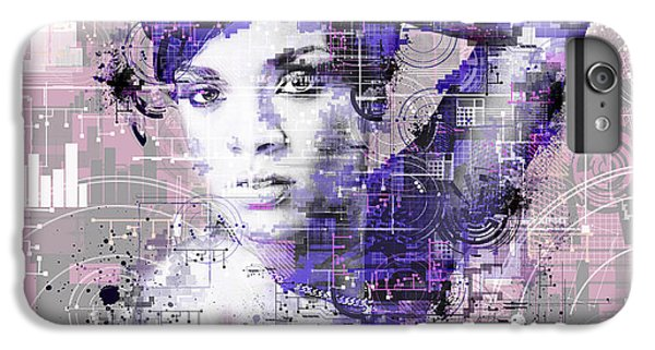 Rihanna 3 IPhone 6s Plus Case by Bekim Art