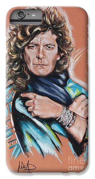 Robert Plant IPhone 6s Plus Case by Melanie D