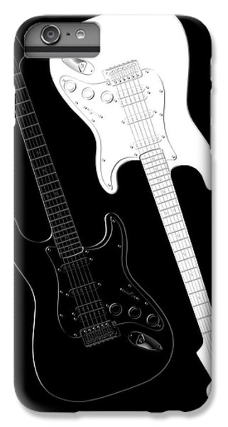 Music iPhone 6s Plus Case - Rock And Roll Yin Yang by Mike McGlothlen