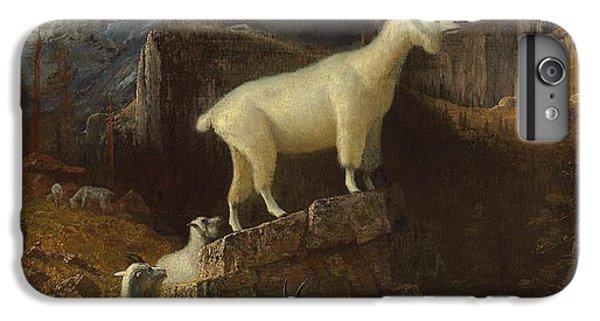 Rocky Mountain Goats IPhone 6s Plus Case by Albert Bierstadt