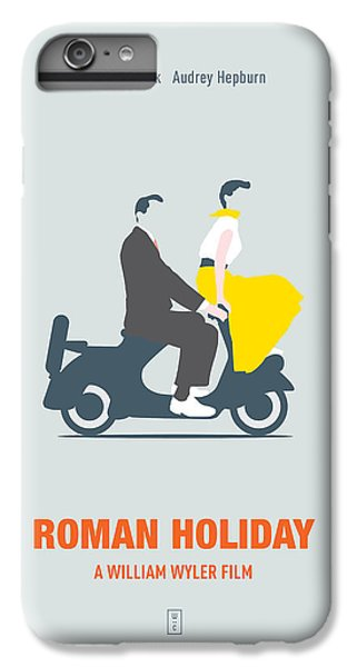 Audrey Hepburn iPhone 6s Plus Case - Roman Holiday by Smile In The  Mind