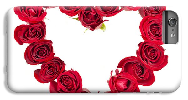 Rose iPhone 6s Plus Case - Rose Heart by Elena Elisseeva
