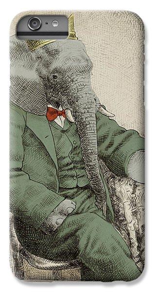 Animals iPhone 6s Plus Case - Royal Portrait by Eric Fan