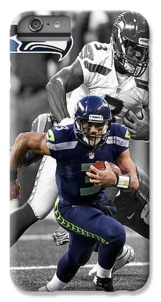 Russell Wilson Seahawks IPhone 6s Plus Case by Joe Hamilton