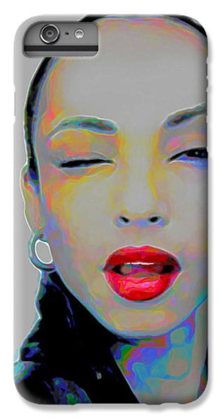 Rhythm And Blues iPhone 6s Plus Case - Sade 3 by Fli Art