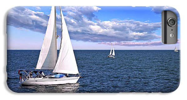 Nature iPhone 6s Plus Case - Sailboats At Sea by Elena Elisseeva