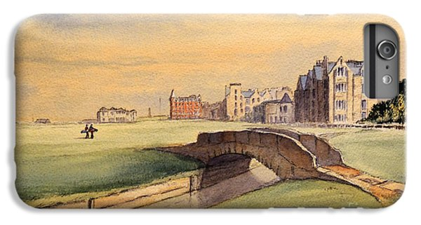 Saint Andrews Golf Course Scotland - 18th Hole IPhone 6s Plus Case by Bill Holkham