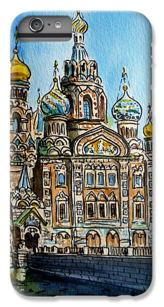 Saint Petersburg Russia The Church Of Our Savior On The Spilled Blood IPhone 6s Plus Case