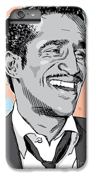 Sammy Davis Jr Pop Art IPhone 6s Plus Case by Jim Zahniser