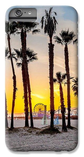 Santa Monica Sunset 2 IPhone 6s Plus Case by Az Jackson