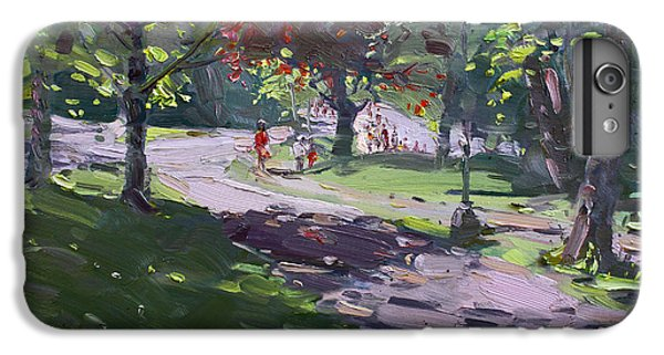 Goat iPhone 6s Plus Case - Saturday In The Park by Ylli Haruni