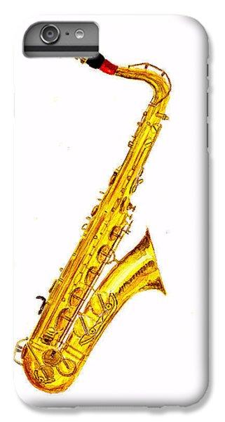 Saxophone IPhone 6s Plus Case by Michael Vigliotti