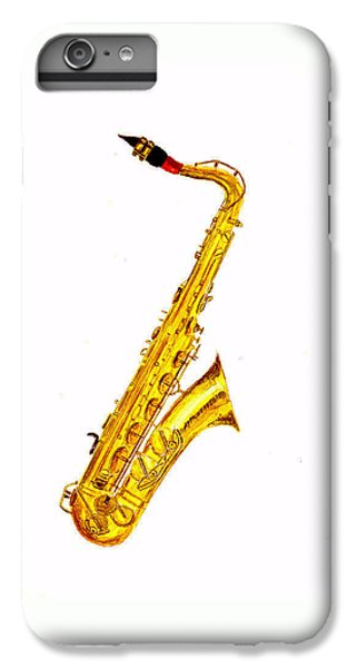 Saxophone iPhone 6s Plus Case - Saxophone by Michael Vigliotti