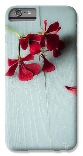 Scarlet iPhone 6s Plus Case - Scarlet Geranium by Jan Bickerton