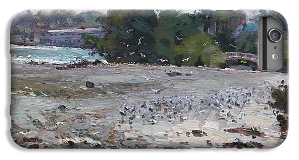 Seagull iPhone 6s Plus Case - Seagulls On Niagara River by Ylli Haruni