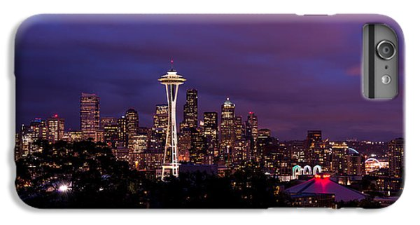 Seattle Night IPhone 6s Plus Case by Chad Dutson