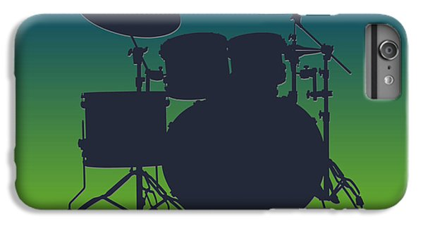 Seattle Seahawks Drum Set IPhone 6s Plus Case by Joe Hamilton