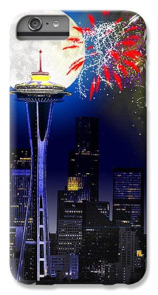 Seattle Skyline IPhone 6s Plus Case